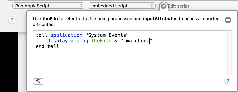Using AppleScript or JavaScript – Noodlesoft